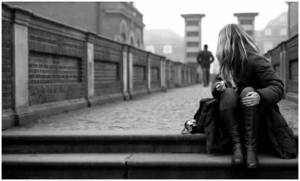 walking away letting go