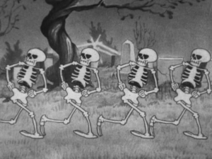skeletons dance