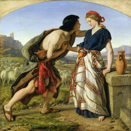 jacob-and-rachel-by-william-dyce-18531