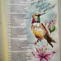 Uncovering The Poet Through Illustrated Journaling: Psalm